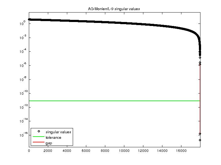 Singular Values of AG-Monien/L-9