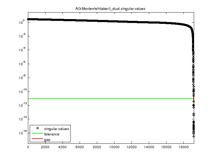 Singular Values of AG-Monien/whitaker3_dual