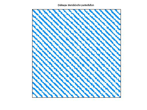 Dulmage-Mendelsohn Permutation of Alemdar/Alemdar