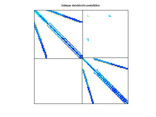 Dulmage-Mendelsohn Permutation of Bai/bfwa782