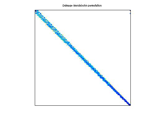 Dulmage-Mendelsohn Permutation of Bai/rw5151