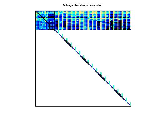 Dulmage-Mendelsohn Permutation of Bai/tols90