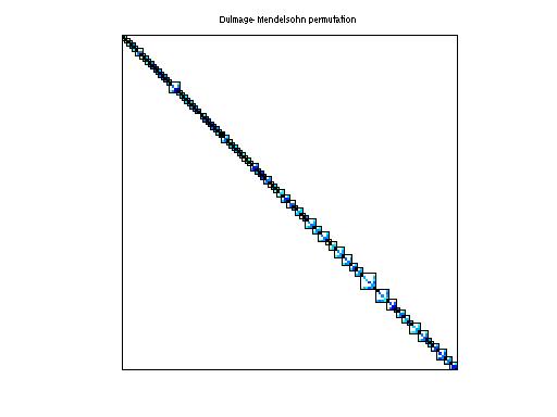 Dulmage-Mendelsohn Permutation of Bates/Chem97ZtZ