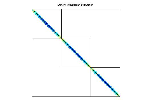 Dulmage-Mendelsohn Permutation of Boeing/crystm01