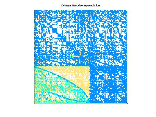 Dulmage-Mendelsohn Permutation of GHS_indef/mario001