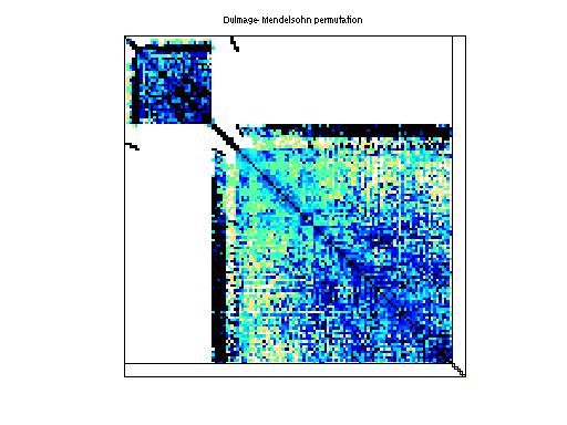 Dulmage-Mendelsohn Permutation of GHS_psdef/ldoor