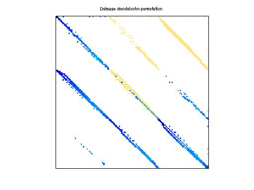 Dulmage-Mendelsohn Permutation of HB/plsk1919