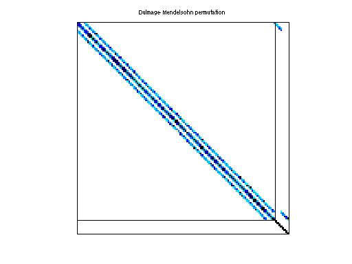 Dulmage-Mendelsohn Permutation of HB/watt_1
