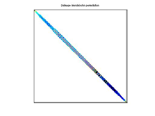 Dulmage-Mendelsohn Permutation of Janna/Emilia_923
