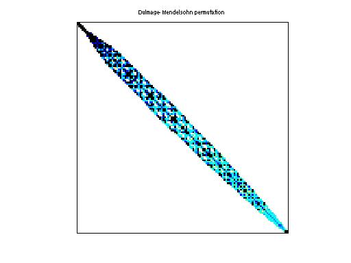 Dulmage-Mendelsohn Permutation of Janna/Serena