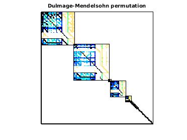 Dulmage-Mendelsohn Permutation of Precima/analytics