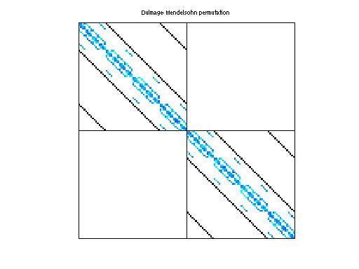 Dulmage-Mendelsohn Permutation of QCD/conf5_0-4x4-22