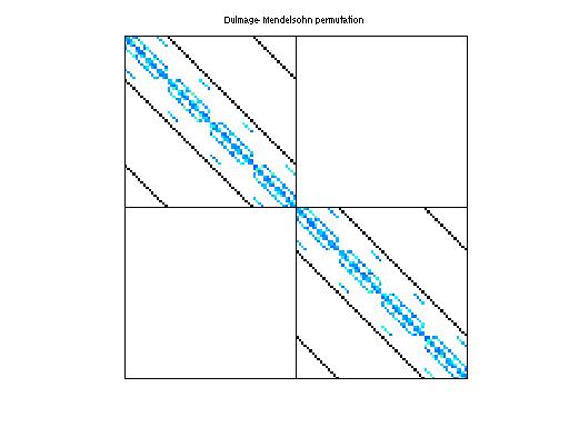 Dulmage-Mendelsohn Permutation of QCD/conf5_0-4x4-26