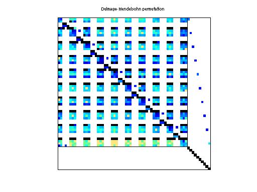 Dulmage-Mendelsohn Permutation of Rommes/ww_36_pmec_36