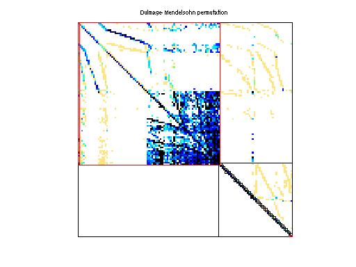Dulmage-Mendelsohn Permutation of Rommes/xingo3012
