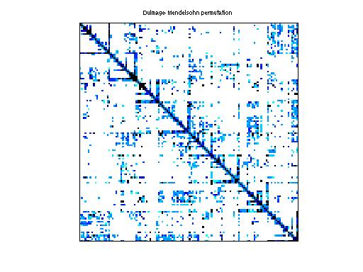 Dulmage-Mendelsohn Permutation of Sandia/ASIC_100ks
