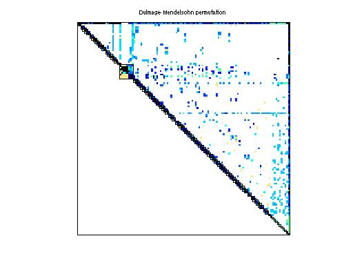 Dulmage-Mendelsohn Permutation of Sandia/adder_dcop_01