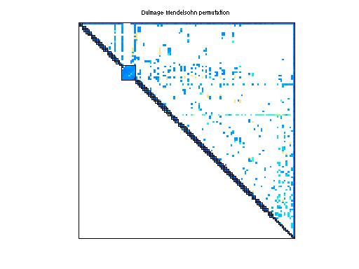 Dulmage-Mendelsohn Permutation of Sandia/adder_dcop_06