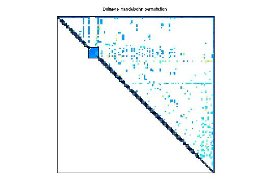 Dulmage-Mendelsohn Permutation of Sandia/adder_dcop_10