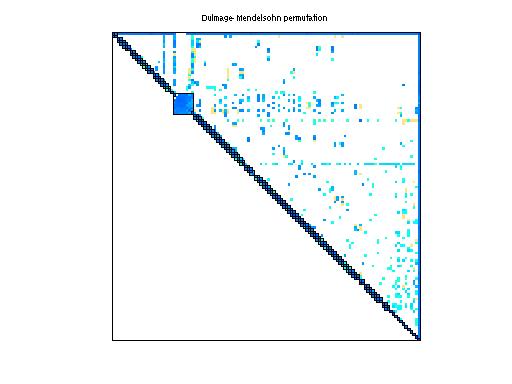 Dulmage-Mendelsohn Permutation of Sandia/adder_dcop_17