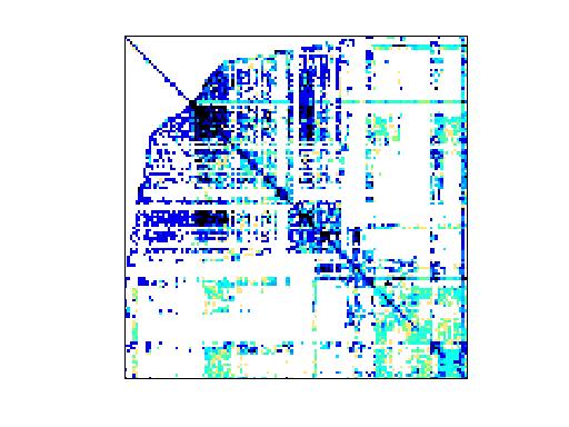 Nonzero Pattern of Shen/shermanACb