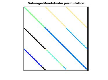 Dulmage-Mendelsohn Permutation of VLSI/power9