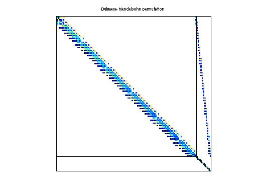 Dulmage-Mendelsohn Permutation of Zitney/radfr1